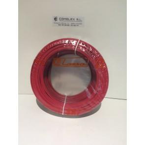 CABLE DE AUDIO ROJO/NEGRO 2X1 REF.: 6039 LAZSA (Rollos de 100 mts)