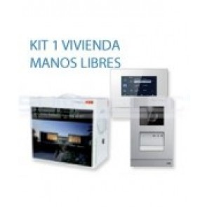 KIT VIDEO PORTERO COLOR NIESSEN 1 LLAMADA W2821
